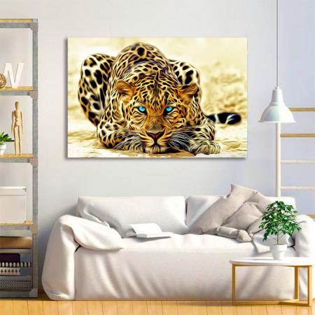 Tablou Canvas - Leopard2