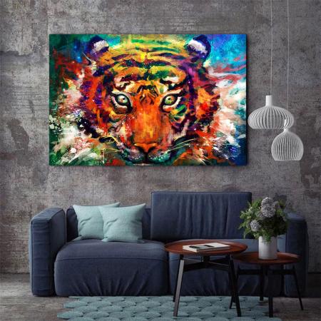 Tablou Canvas - Tiger artwork1