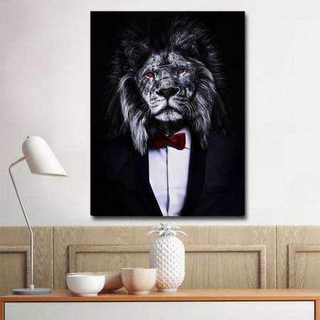 Tablou Canvas - Corporate lion [1]
