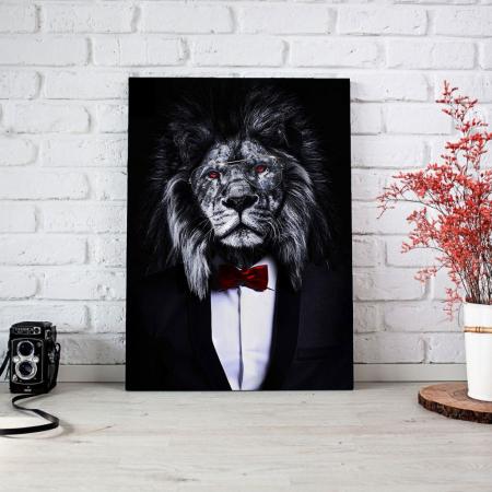 Tablou Canvas - Corporate lion [3]
