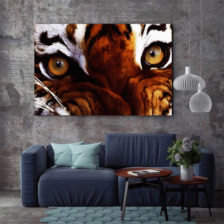 Tablou Canvas - Tiger eyes2