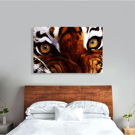 Tablou Canvas - Tiger eyes3