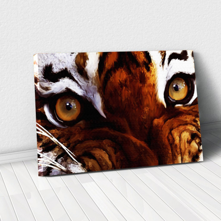 Tablou Canvas - Tiger eyes0
