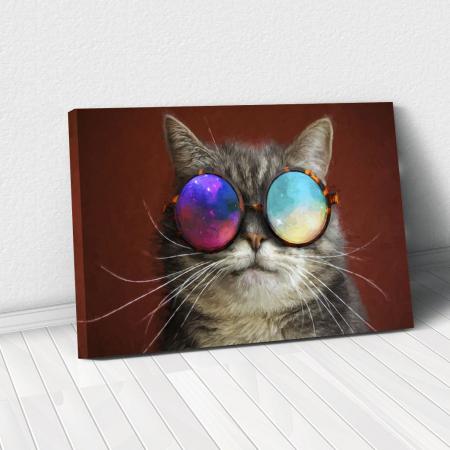 Tablou Canvas - Cool cat0