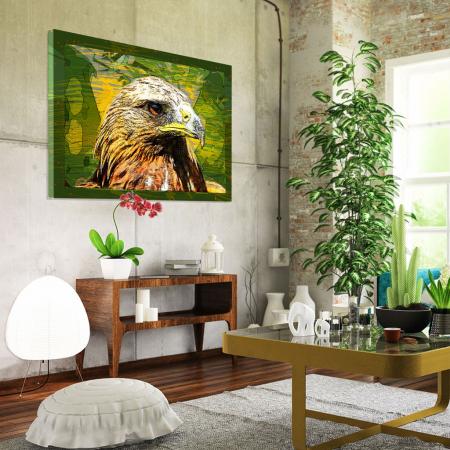 Tablou Canvas - Vultur cromatic1