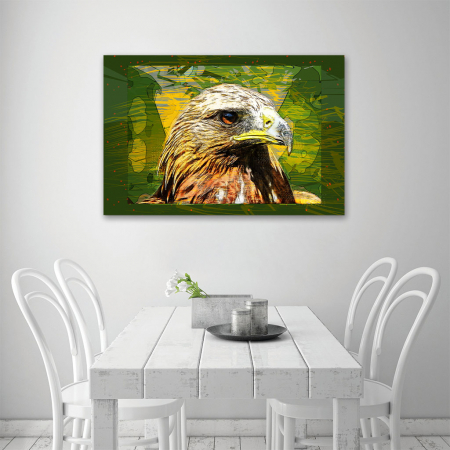 Tablou Canvas - Vultur cromatic3
