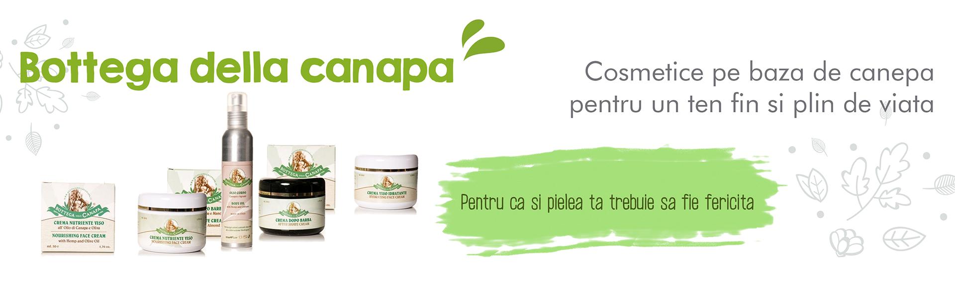 Cosmetice organice Botega della Canapa
