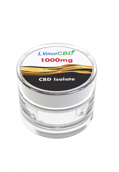 Cristale CBD 99%, 1000mg 0