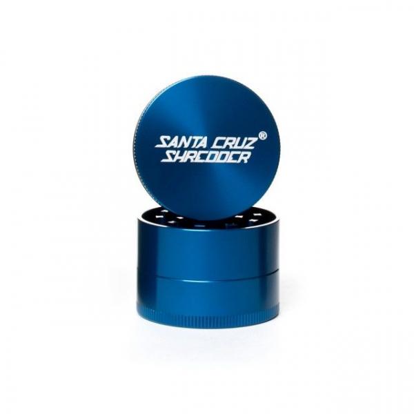 Grinder 'Santa Cruz' Medium, Albastru, 3 Parti, Ø53mm 0