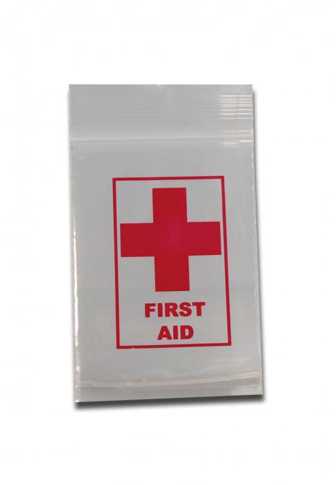 Punga Resigilabila First Aid, 40x60mm, 100buc [0]