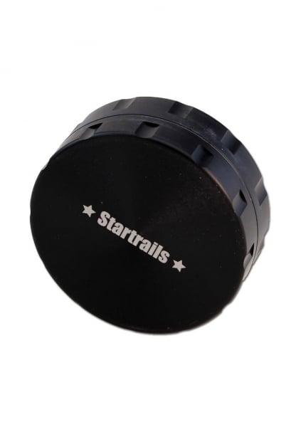 Grinder 'Black Leaf' Startrails, 2 Parti, Argintiu, Ø62mm 2
