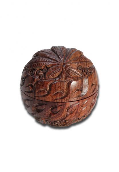 Grinder RoseWood 'Leaf, Rotund, 2 Parti, Ø50mm [0]