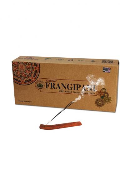 Betisoare parfumate 'Goloka', 'Franginapi', Organic [0]