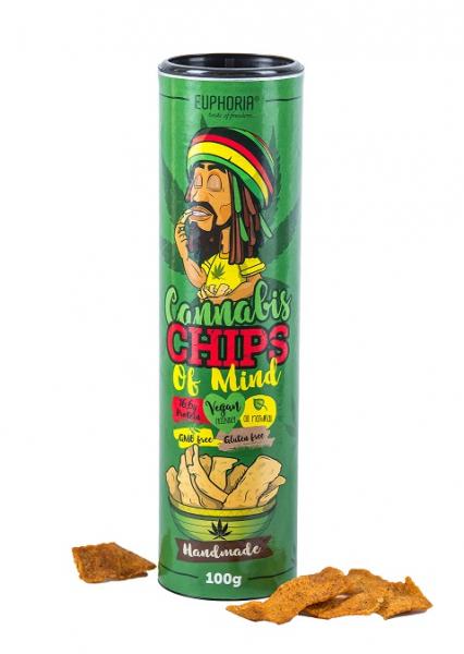 Chipsuri 'Euphoria' Cannabis, 100gr 0