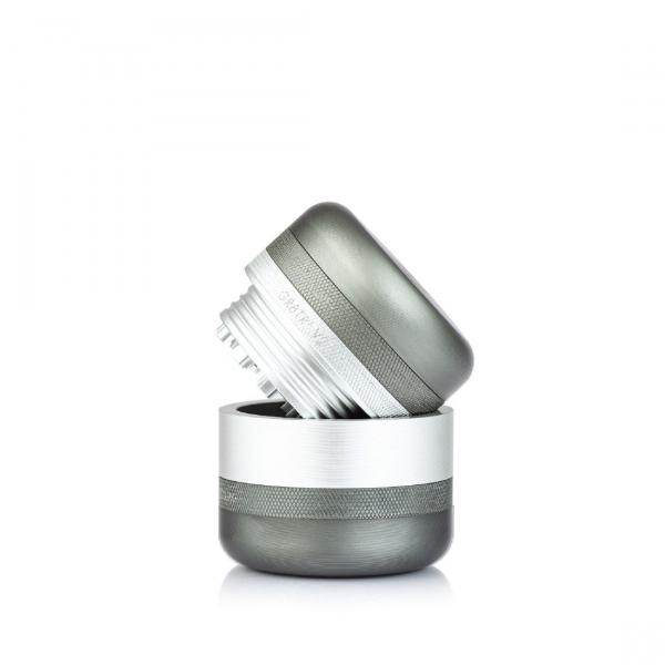 Grinder Kannastor GR8TR® V2, Argintiu 2