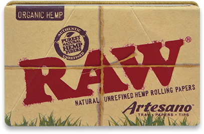 Foite Canepa Organic RAW Artesano 1 1/4 cu Filtre si Tava 0