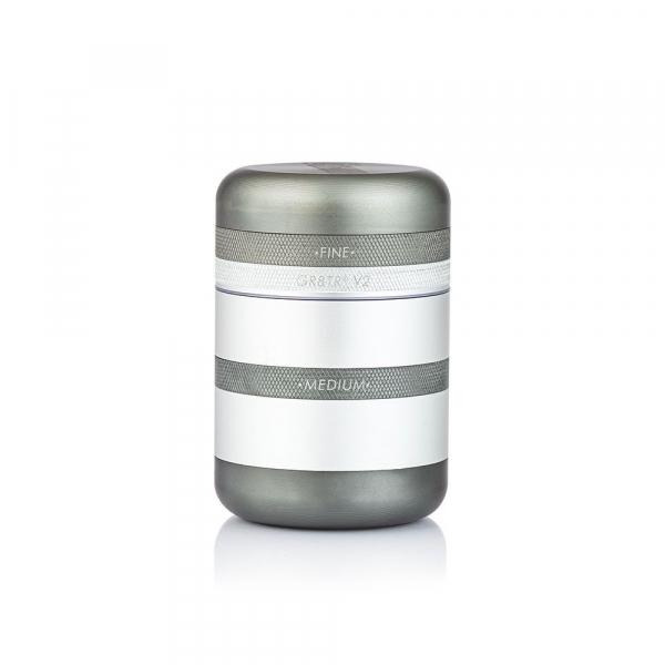 Grinder Kannastor GR8TR® V2, cu Camera Screen, Argintiu 0