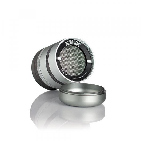 Grinder Kannastor GR8TR® V2, cu Camera Screen, Argintiu 1