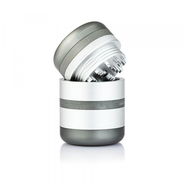 Grinder Kannastor GR8TR® V2, cu Camera Screen, Argintiu 2