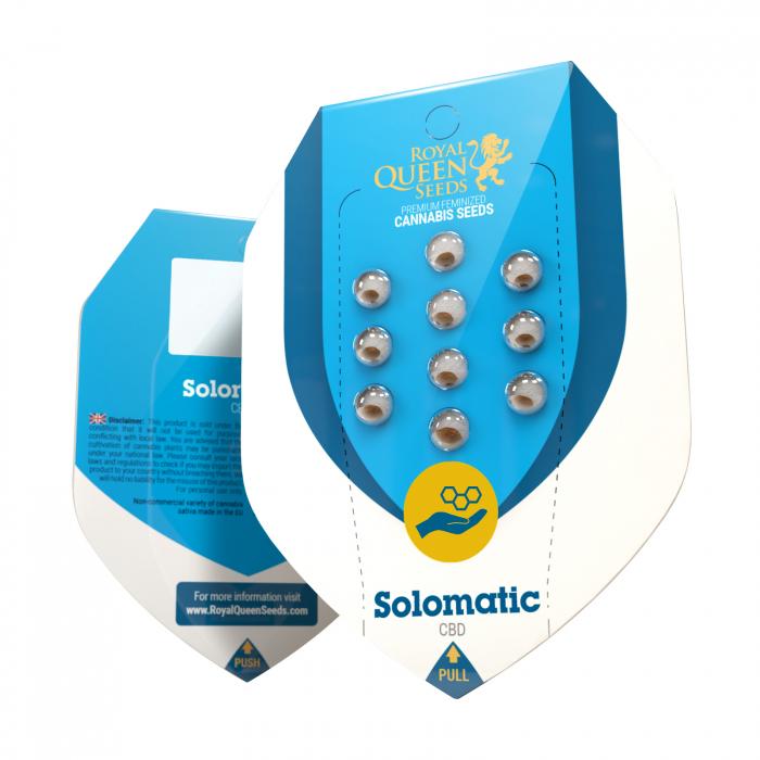 Auto CBD Solomatic Feminized, 5 seminte 0