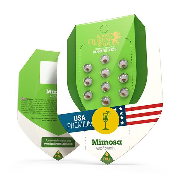 Auto Mimosa USA Feminized, 5 seminte 0