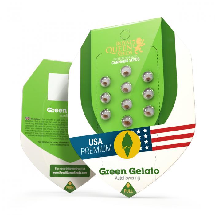 Auto Green Gelato USA Feminized, 5 seminte 0
