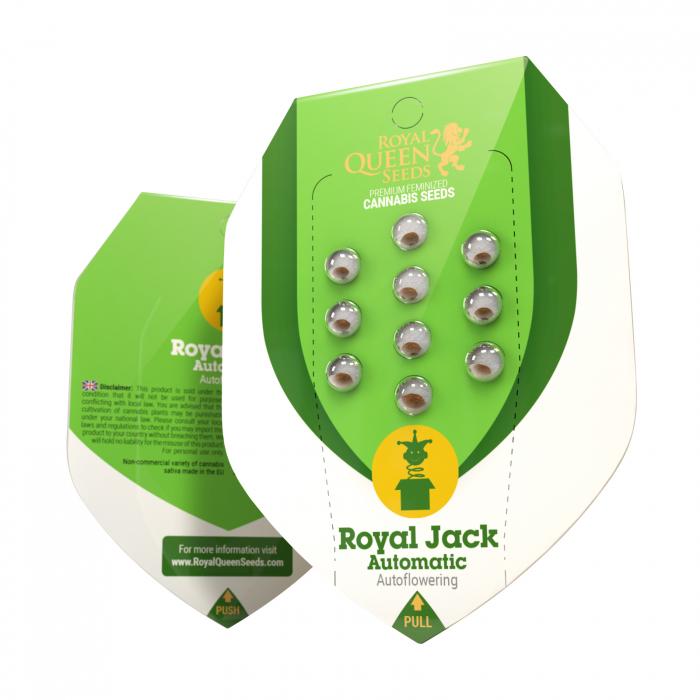 Auto Royal Jack Feminized, 5 seminte 0