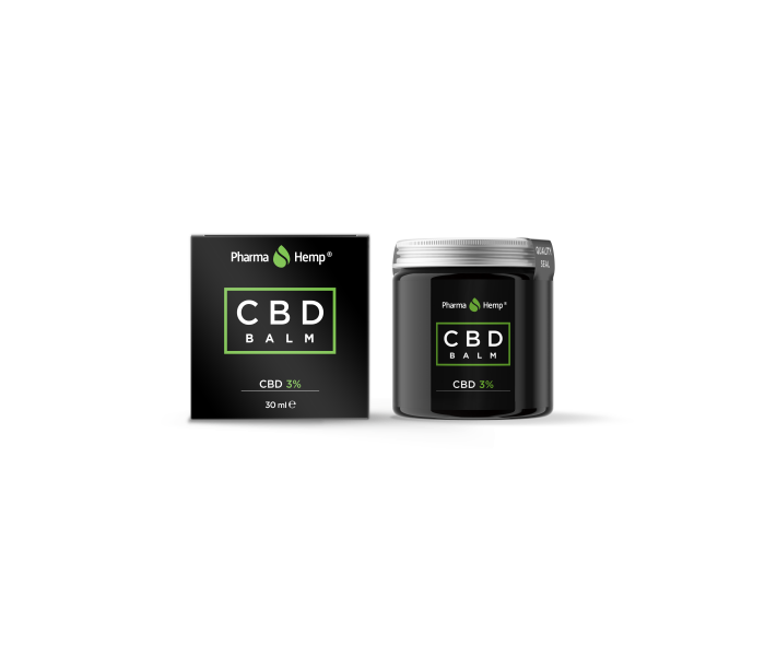 Balsam CBD 3%, 900mg, Full Spectrum, PharmaHemp, 30ml [0]