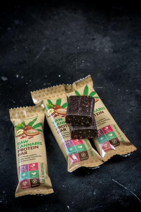 Baton cu Proteine, Euphoria, Cocoa, 50g [1]