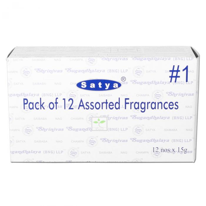 Betisoare parfumate 'Satya', 12 Parfumuri [0]