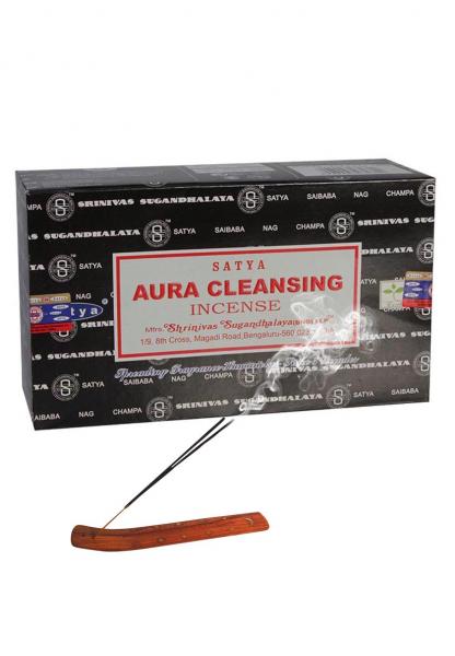 Betisoare parfumate 'Satya', 'Aura Cleansing' 0