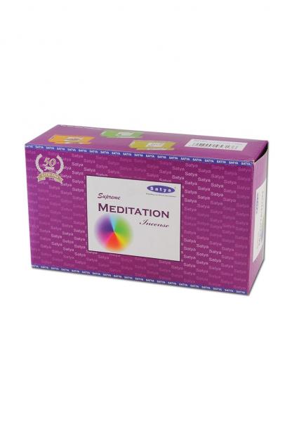 Betisoare parfumate 'Satya', 'Meditation' 0
