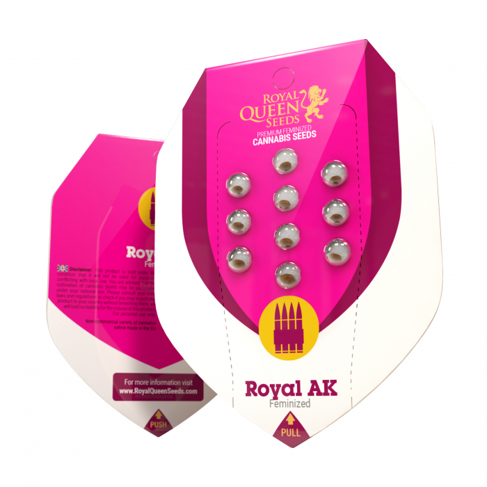 Royal AK Feminized, 5 seminte 0