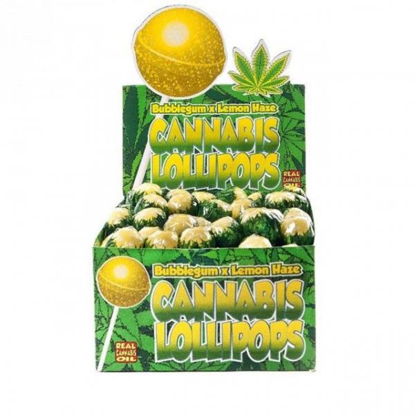 Bomboane cu aroma de cannabis, Bubblegum x Lemon Haze 0