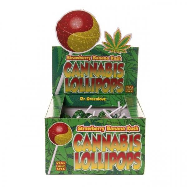 Bomboane cu aroma de cannabis, Strawberry Banana Kush 0