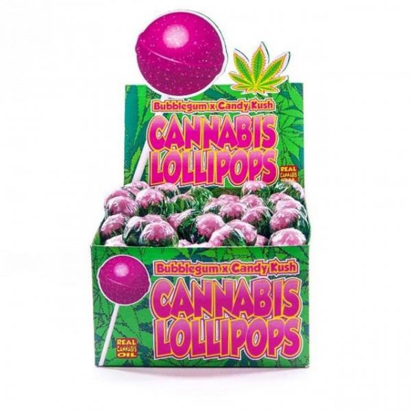 Bomboane cu aroma de cannabis, Bubblegum x Candy Kush 0