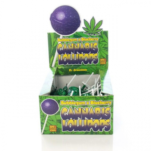 Bomboane cu aroma de cannabis,  Bubblegum x Blueberry 0