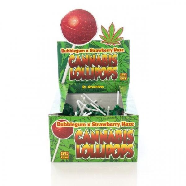 Bomboane cu aroma de cannabis,  Bubblegum x Strawberry Haze [0]