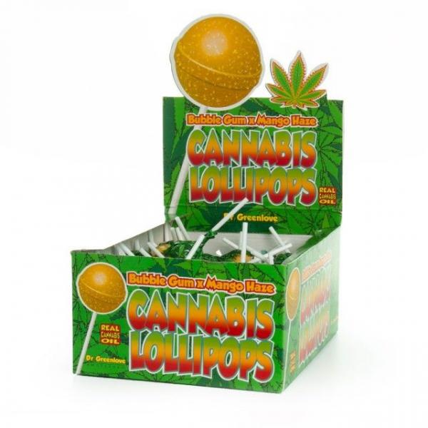 Bomboane cu aroma de cannabis, Bubblegum x Mango Haze 0