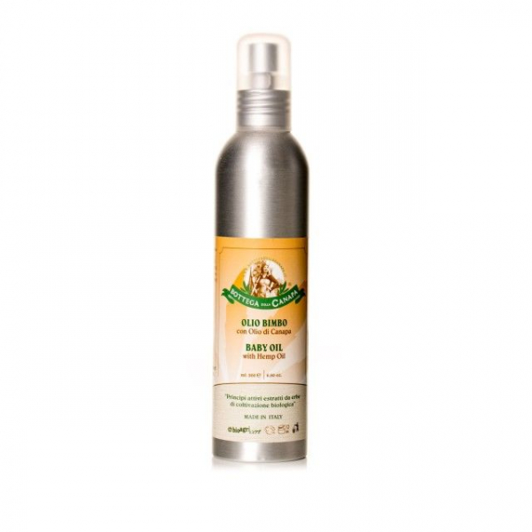 Baby Oil cu Ulei de Canepa, Organic, 200ml [0]