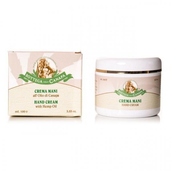 Crema de maini cu ulei de canepa, Organic, 100ml 0