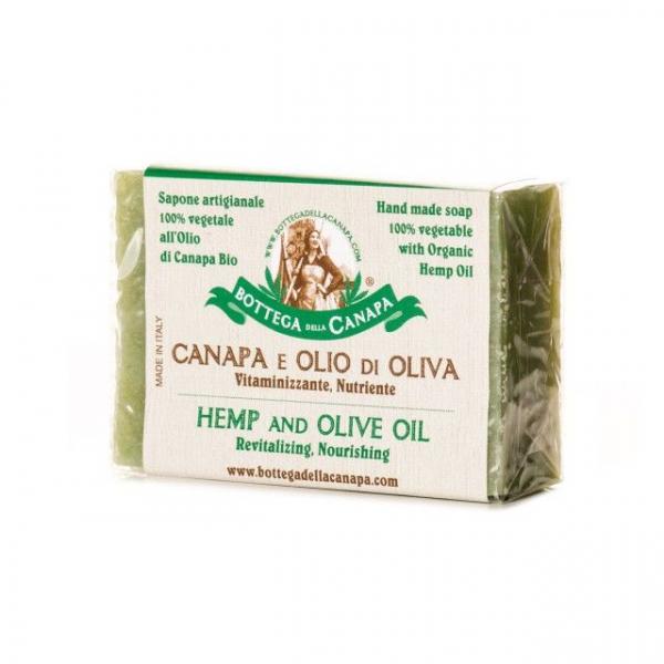 Sapun organic din canepa cu ulei de masline 0