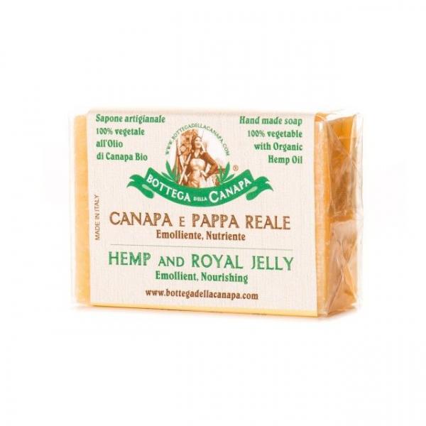 Sapun organic din canepa cu Royal Jelly 0