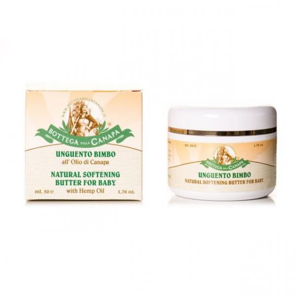 Baby Butter cu Ulei de Canepa, Organic, 50ml 0