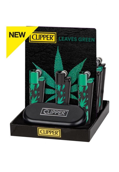 Bricheta Clipper, metal, Green Leaves 0
