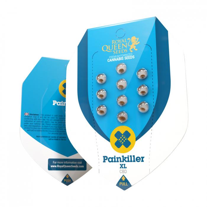CBD Painkiller XL Feminized, 5 seminte 0