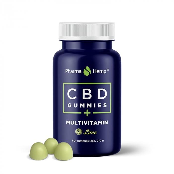 Jeleuri CBD Multivitamin, 60buc, 600mg, PharmaHemp [0]