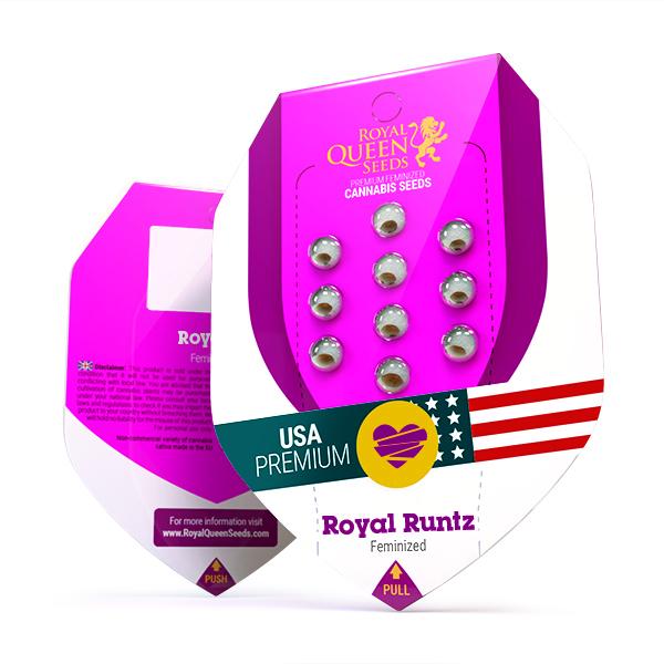 Royal Runtz USA Feminized, 5 seminte 0