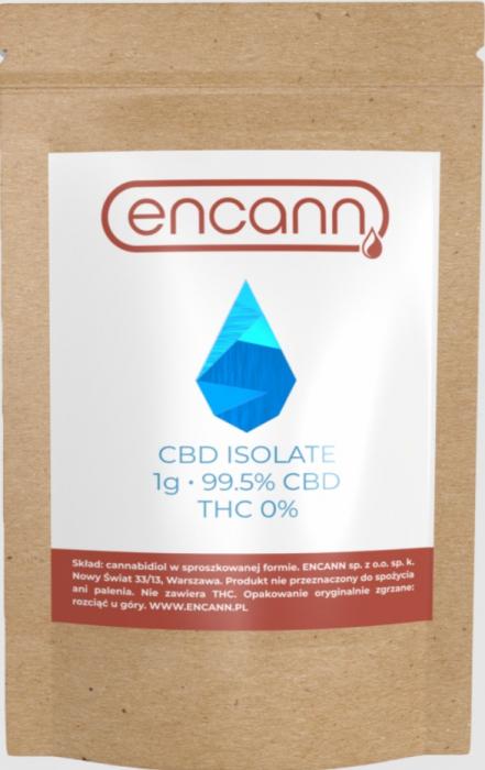 Cristale CBD 99%, ENCANN, 1000mg 1
