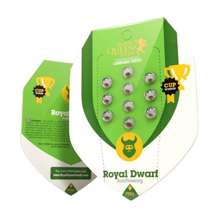 Auto Royal Dwarf Feminized, 5 seminte 0